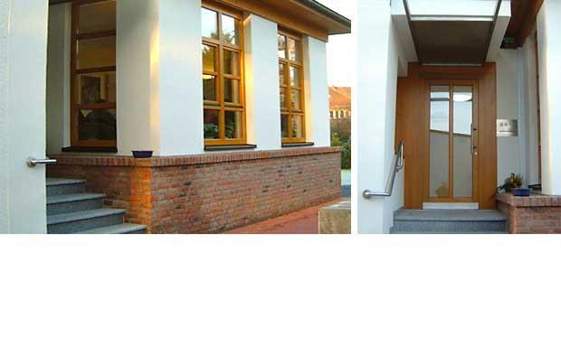 Umbau eines Hauses und Anbau zur Schaffung einer modernen Arztpraxis