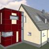50er Jahre Siedlungshaus, Sanierung zum KfW 70 Haus