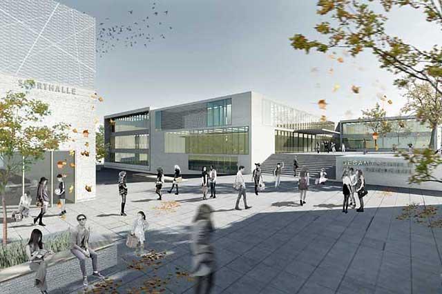 Gesamtschule am Sandkaul, Aachen, Fertigstellung 2015