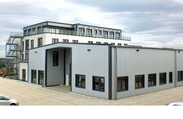 Neubauprojekt Fabrikanlage