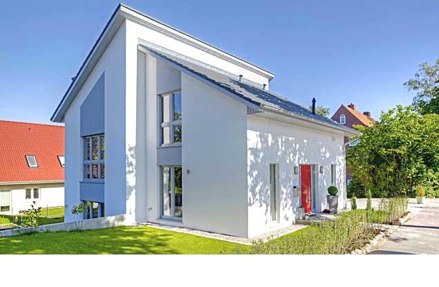 Haus Schröder - modernes Pultdachhaus
