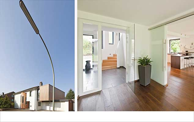 Ein Haus aus den 1970er Jahren wird erweitert, energietechnisch aufgewertet