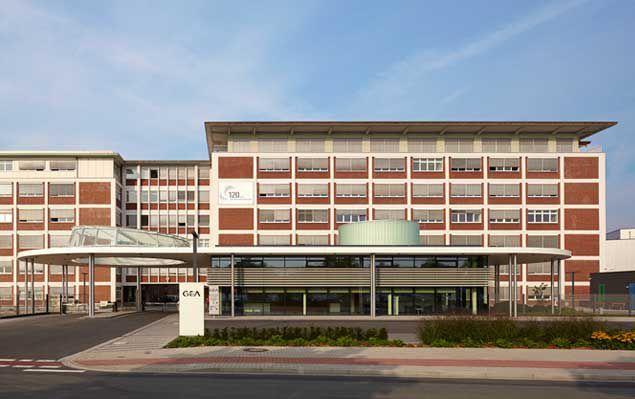 Empfangsgebäude einer Maschienenfabrik in Oelde