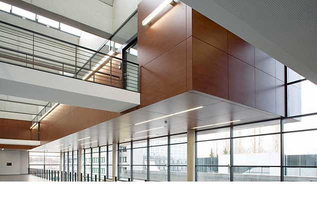Technologiezentrum der Firma Schüco in Bielefeld