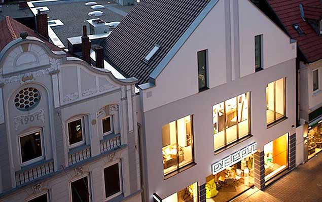 Neubau eines Geschäftshauses in Lippstadt