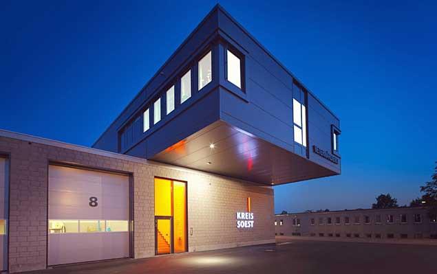 Neubau Rettungszentrum Kreis Soest