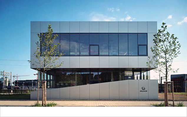 Neubau Bürogebäude am Eurobahnhof - Saarbrücken