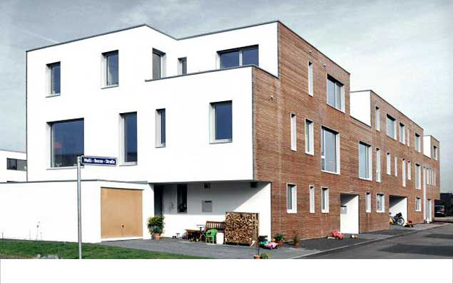 Neubau Reihenhauszeile/ Baugemeinschaft - Saarbrücken