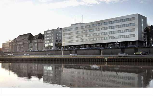 Fassadensanierung des Amtsgerichts in Saarbrücken