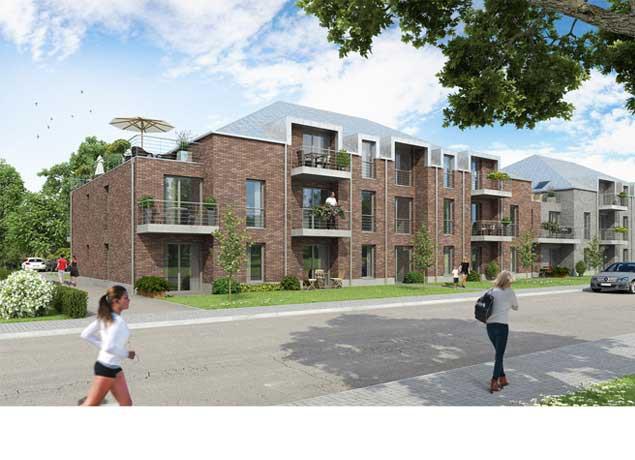 2 Mehrfamilienhäuser mit jeweils 17 Wohneinheiten in Dinslaken,