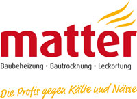 Matter-Bautrocknung