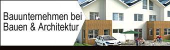 Bauunternehmen bei Bauen & Architektur
